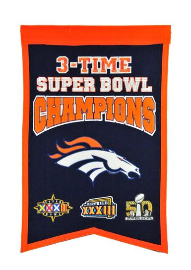 Denver Broncos Super Bowl Champions Traditions Banner