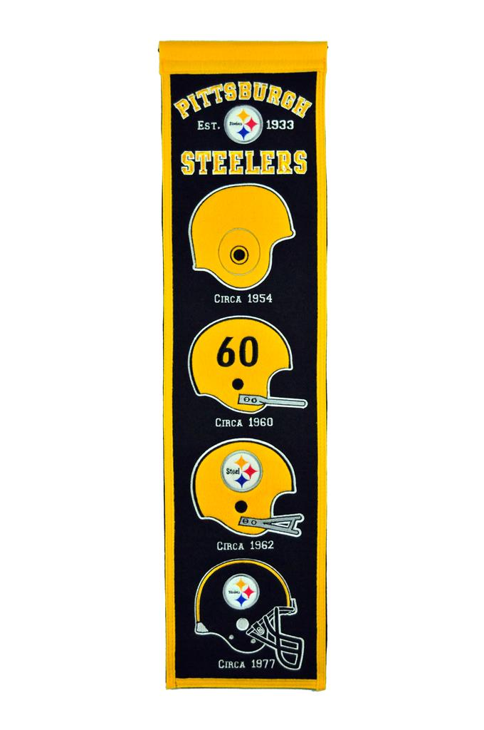 Pittsburgh Steelers Heritage Banner - Latitude Sports Marketing