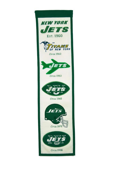New York Jets Heritage Banner
