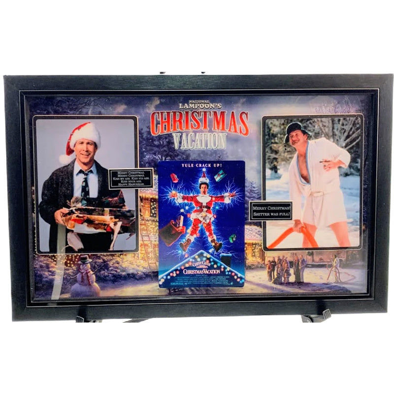 National Lampoon's Christmas Vacation Framed Movie Collage