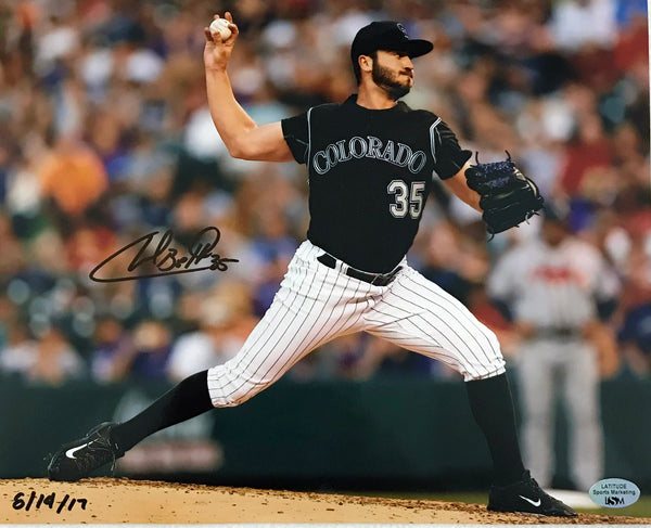 Chad Bettis Autographed 8x10 Photo