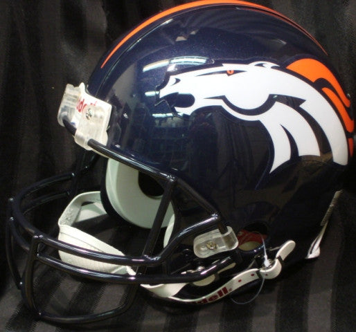 Broncos Pro unsigned helmet - Latitude Sports Marketing