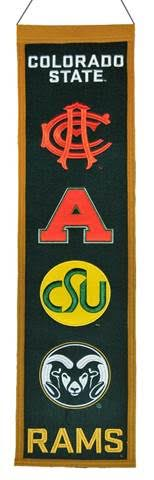 Colorado State University Heritage Banner