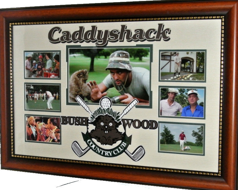 Caddyshack Bushwood Photo Shot Framed