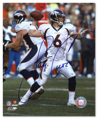 Jay Cutler Signed 8x10 (Throw) - Latitude Sports Marketing