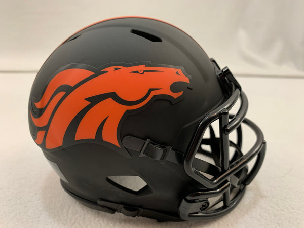 Denver  Broncos Eclipse Riddell Mini Helmet