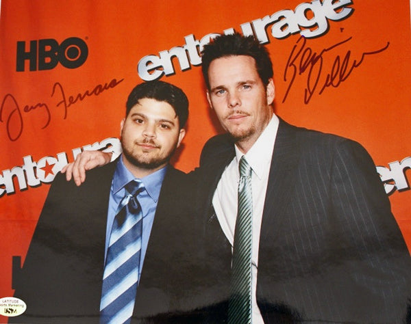 Entourage Hand Signed 8X10 Photo