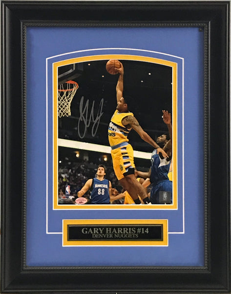 Gary Harris Signed and Framed 8x10 Photo