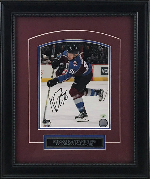 Mikko Rantanen Signed and Framed 8x10 Photo