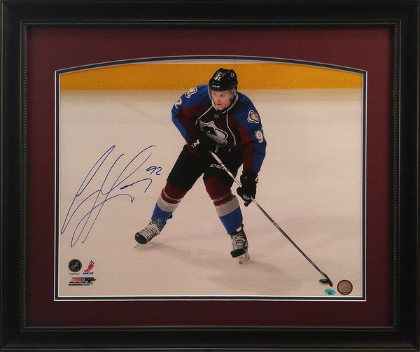 Gabriel Landeskog Signed Framed 16x20 Photo