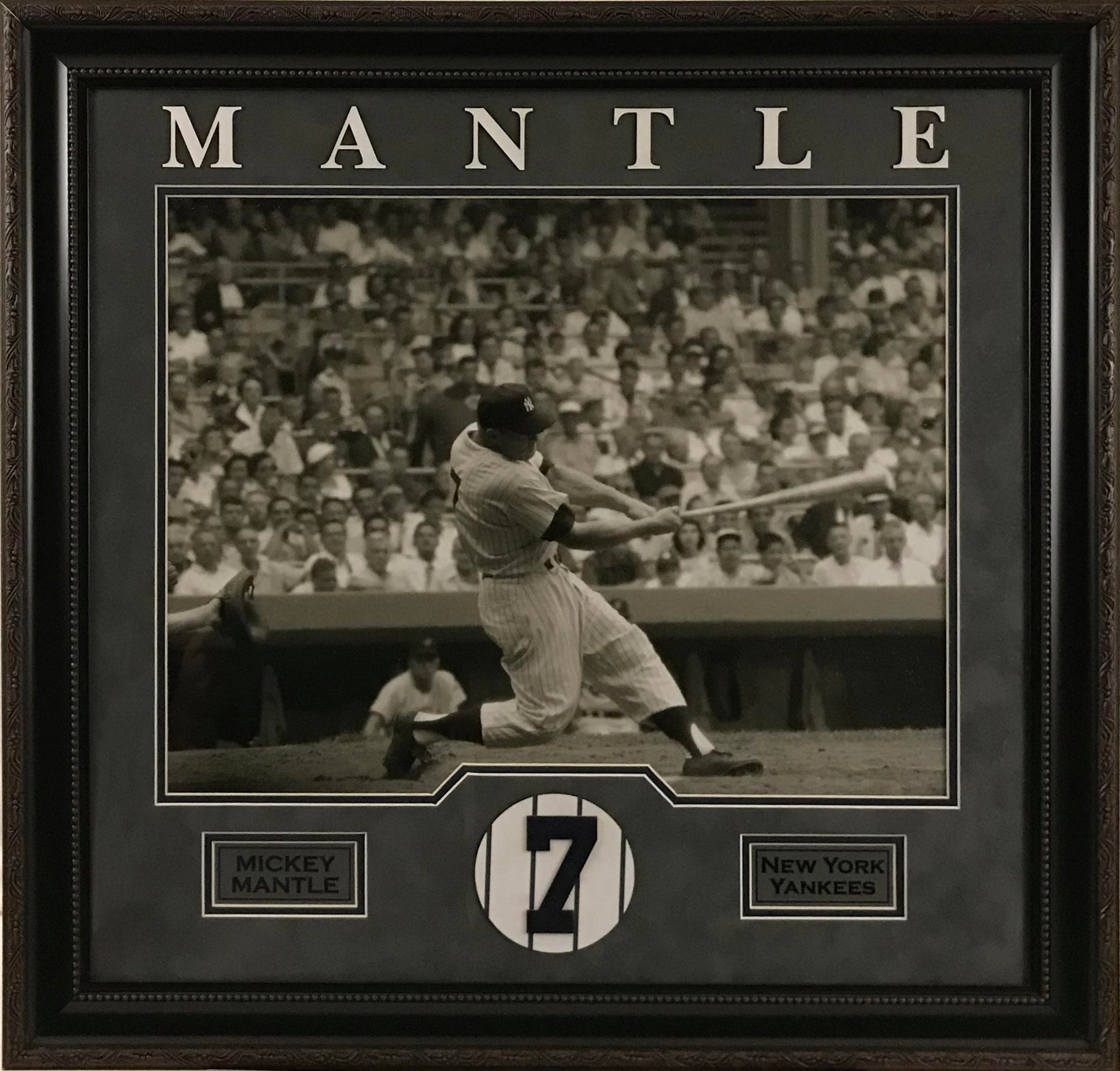 Mickey Mantle Framed 16x20 Photo