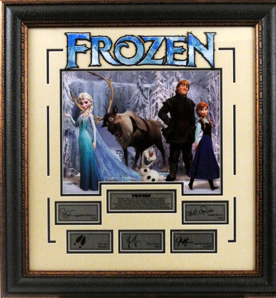 Frozen Framed Photo with Laser Signatures