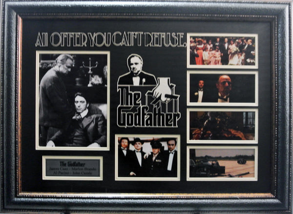 "Hollywood ""Godfather"" Movie Photo Collage"