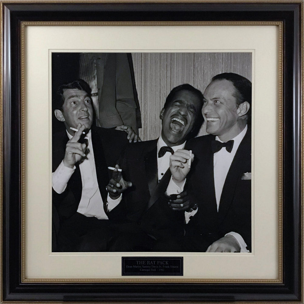 Rat Pack Carnegie Hall Gallery Image with Nameplate - Latitude Sports Marketing