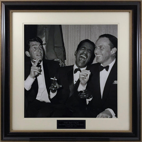 Rat Pack Carnegie Hall Gallery Image with Nameplate