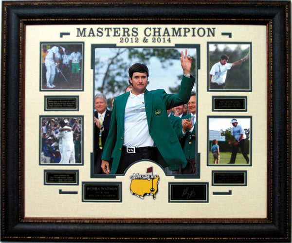 Bubba Watson 2012/2014 Masters Champion Collage
