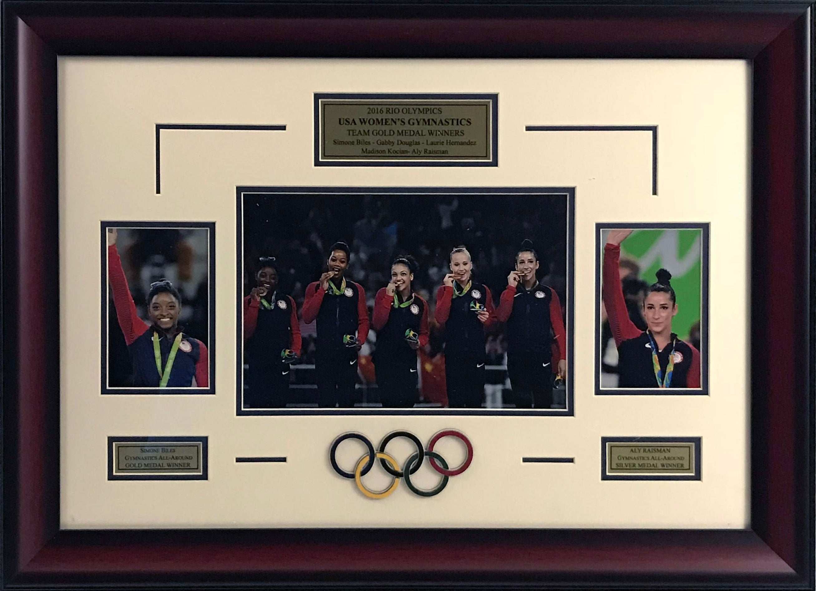USA Gymnastics Rio Olympics Framed Photo