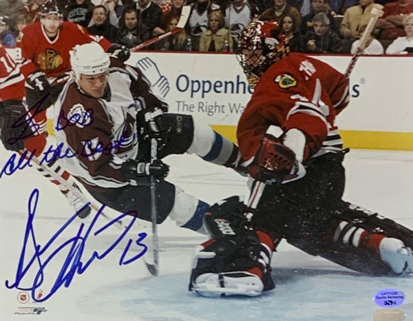 "Dan Hinote Signed 8x10 Photo Personalized ""To Bob All the Best!"" - Latitude Sports Marketing"