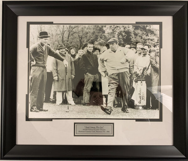 "Arnold Palmer & Jackie Gleason 16x20 ""Away We Go"" - Latitude Sports Marketing"