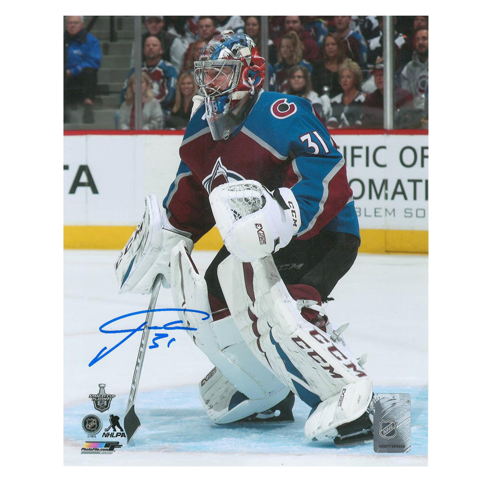 Philipp Grubauer Signed 8x10 Photo LSM COA