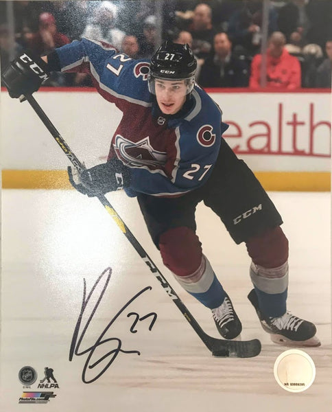Ryan Graves Signed 8x10 Photo