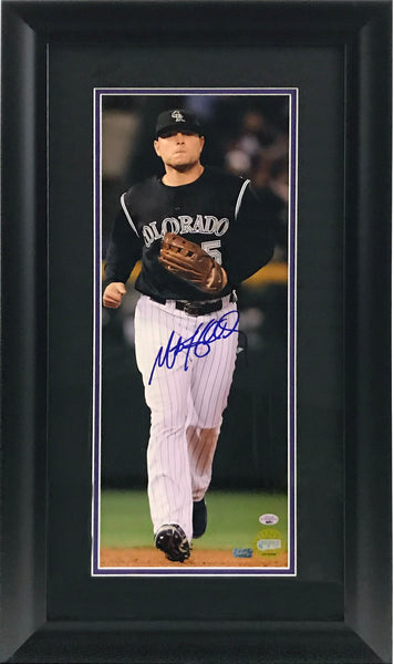 Matt Holliday Signed and Framed 8x20 Photo