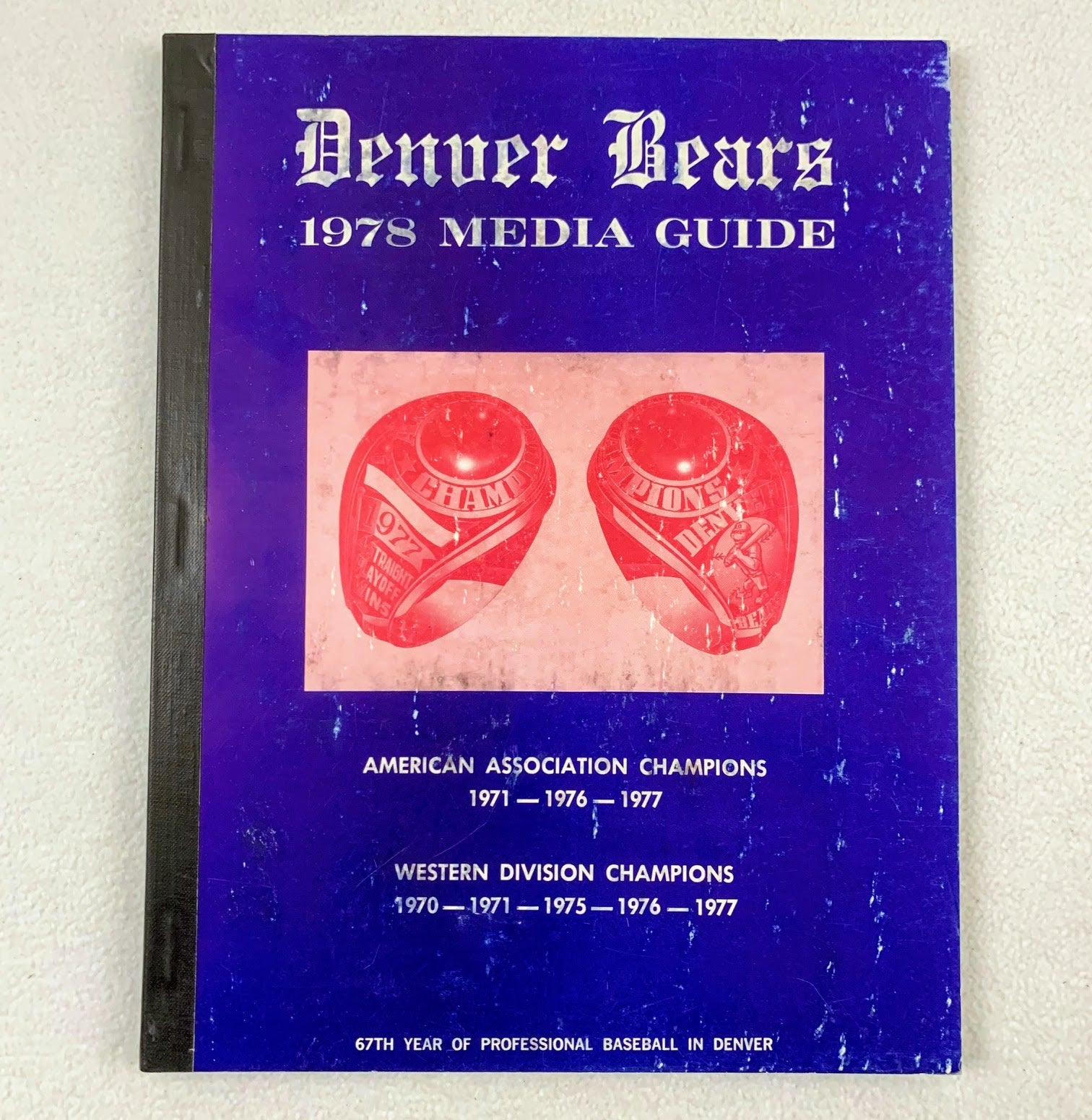 1978 Denver Bears Media Guide (Montreal Expos AAA)