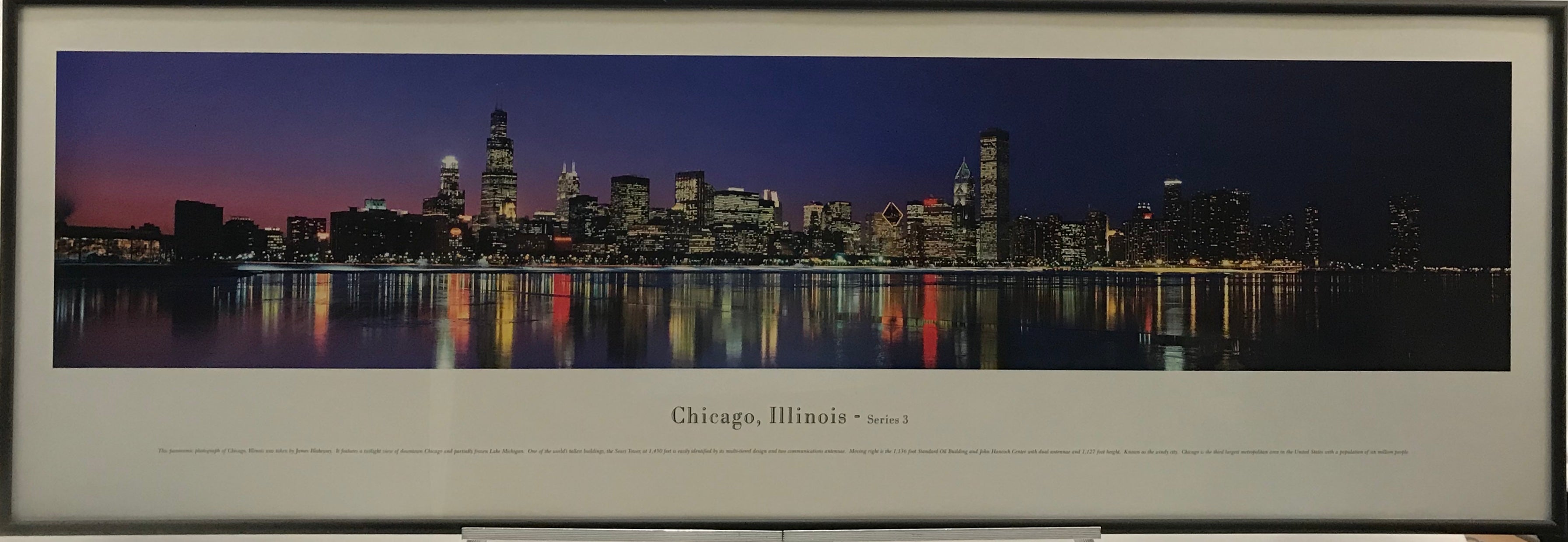 Chicago Skyline Panoramic - Latitude Sports Marketing