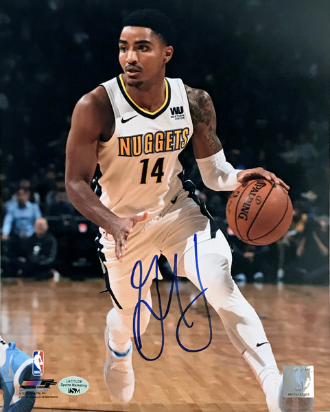 Gary Harris Autographed 8x10 Photo - Dribbling - Latitude Sports Marketing