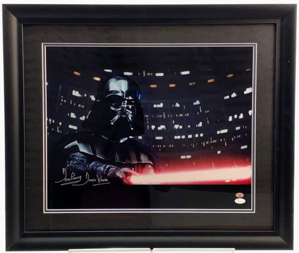 Darth Vader (David Prowse) Signed 16x20 Photo - Latitude Sports Marketing