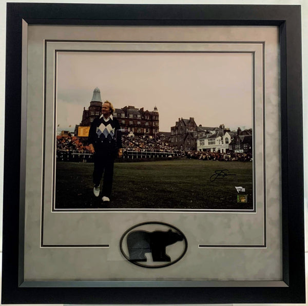Jack Nicklaus Signed Deluxe 16x20 Photo - Latitude Sports Marketing