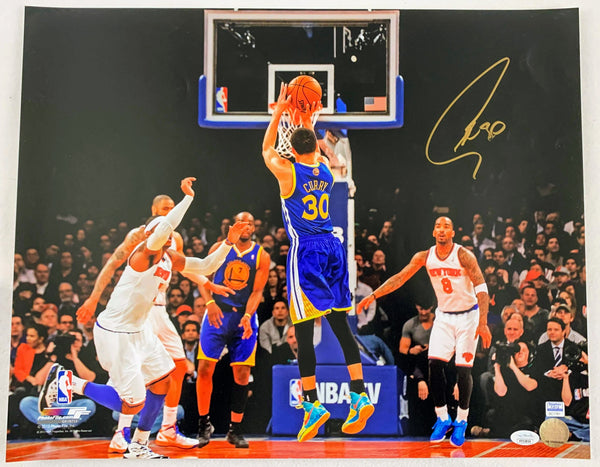 Steph Curry Signed 16x20 Photo - Latitude Sports Marketing
