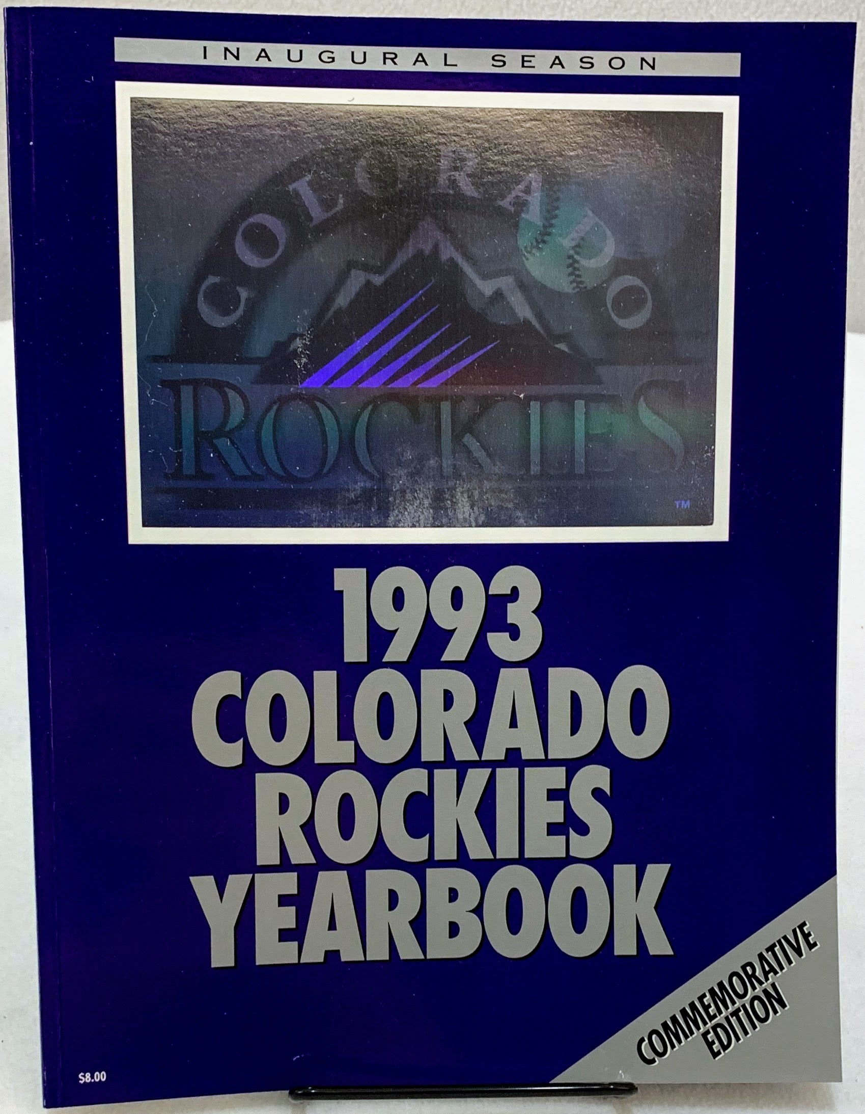 1993 Colorado Rockies Yearbook Commemorative Edition - Latitude Sports Marketing
