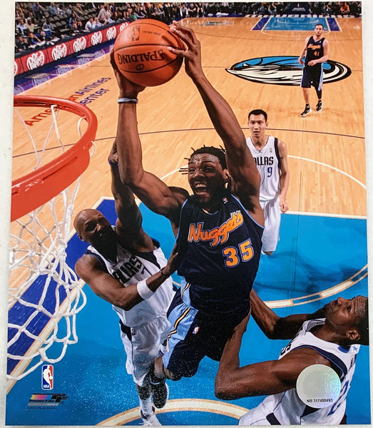 Kenneth Faried Unsigned 8x10 Photos - Latitude Sports Marketing