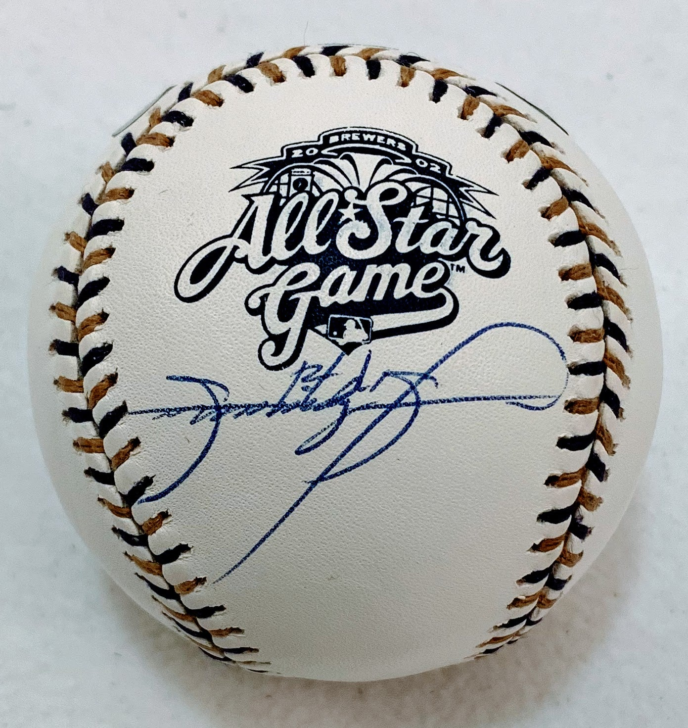 Sammy Sosa Signed 2002 All-Star Game Ball - Latitude Sports Marketing
