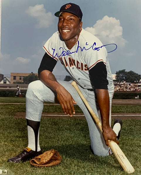 Willie McCovey Autographed San Francisco Giants 8x10 Photo