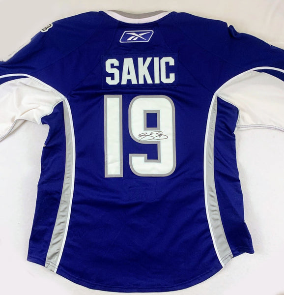 Joe Sakic Authentic CCM (2007 Western Conference All-Stars) Signed Jersey LSM COA