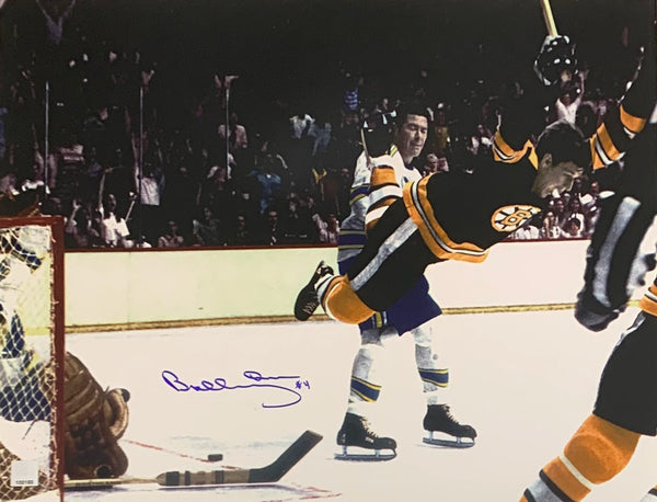 Bobby Orr Autographed Boston Bruins 16x20 Photo - Latitude Sports Marketing