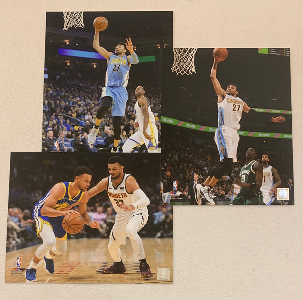 Jamal Murray Unsigned 8x10 Photos - Latitude Sports Marketing