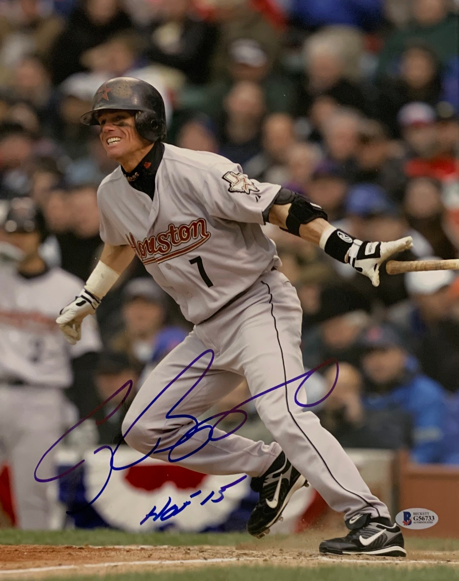Craig Biggio Signed 11x14 Photo - Latitude Sports Marketing
