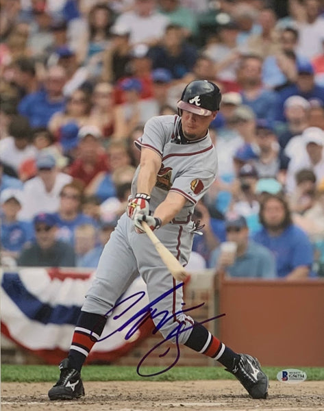 Chipper Jones Autographed 11x14 Atlanta Braves Photo - Latitude Sports Marketing