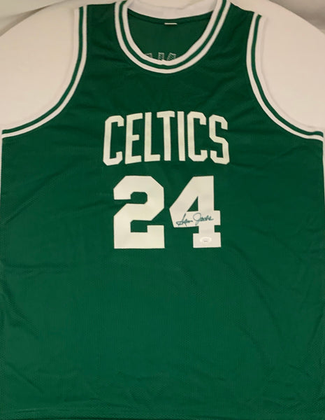 Sam Jones Autographed Boston Celtics Jersey - Latitude Sports Marketing