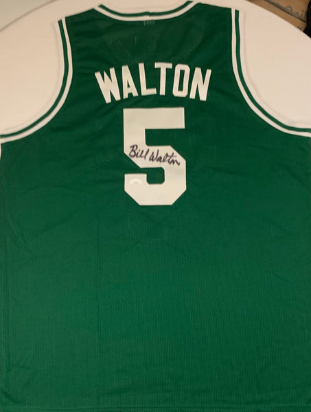 Bill Walton Autographed Boston Celtics Jersey - Latitude Sports Marketing