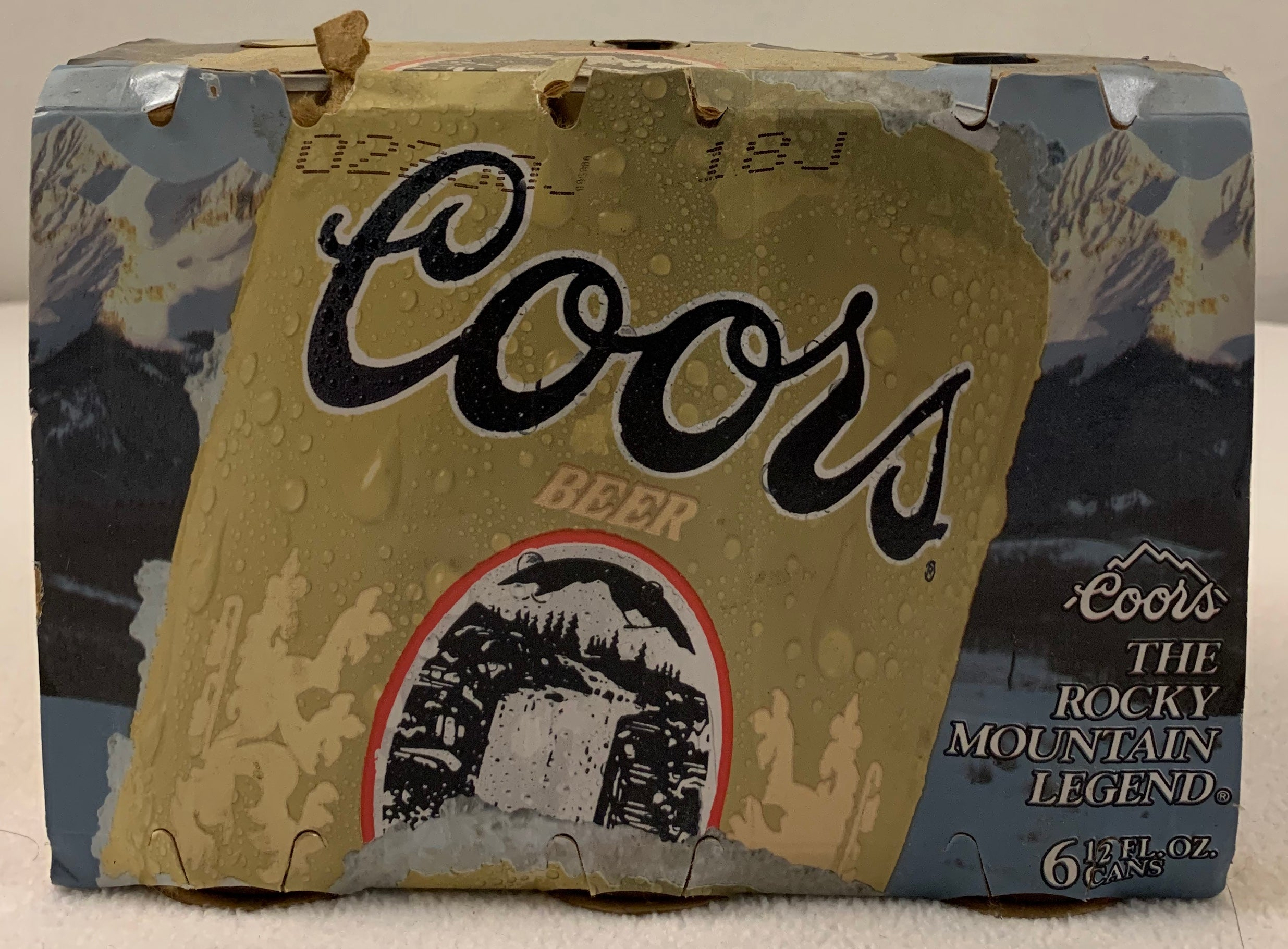 Coors The Rocky Mountain Legend 6 Pack Inaugural Season - Latitude Sports Marketing