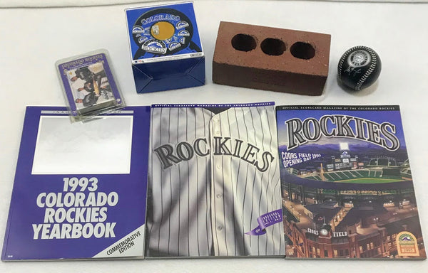 Colorado Rockies Retro Fan Package