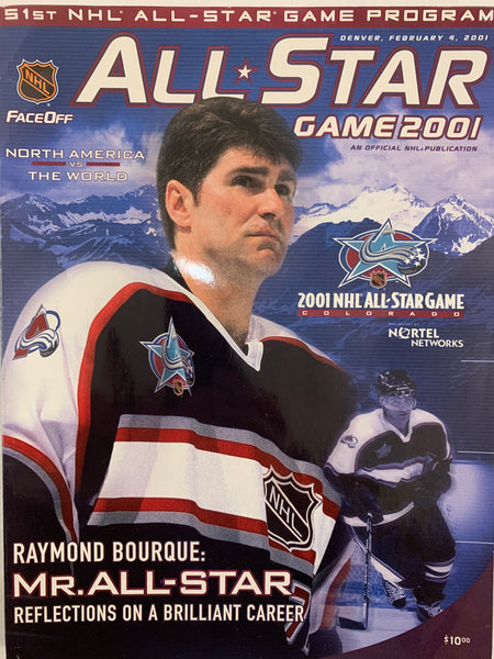 51st NHL All-Star Game Program 2001 - Latitude Sports Marketing