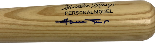 Willie Mays Signed Adirondack Bat - Latitude Sports Marketing
