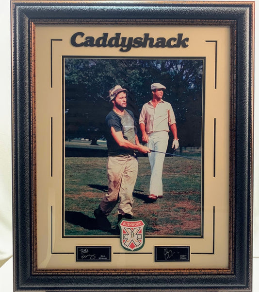 Caddyshack Photo with Laser Engraved Signatures - Bill Murray, Chevy Chase
