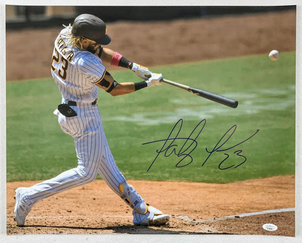 Fernando Tatís Jr. 16x20 Signed Photo LSM JSA COA