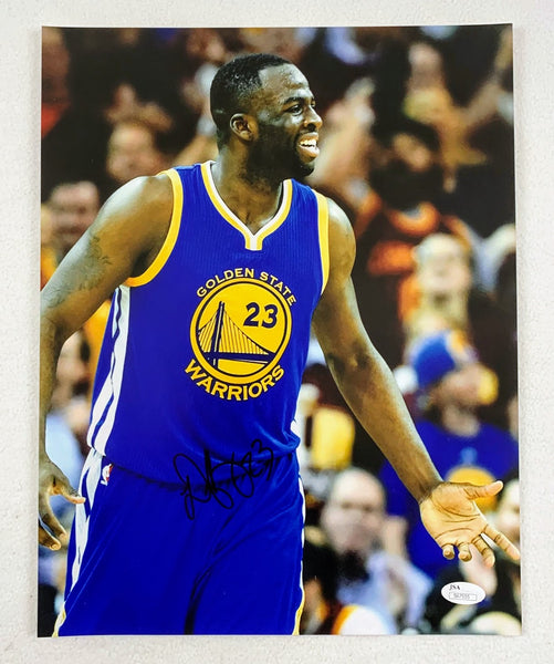 Draymond Green Golden State Warriors Signed 11x14 Photo LSM JSA COA